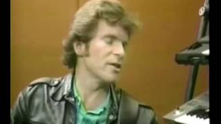 John Fogerty 1986 Interview clips on Farm Aid and recording Eye of the Zombie