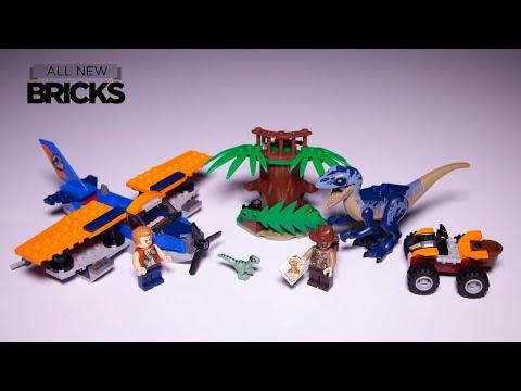Vidéo LEGO Jurassic World 75942 : Vélociraptor : la mission de sauvetage en avion
