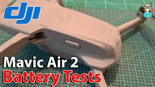 Mavic Air 2 - Battery Tests