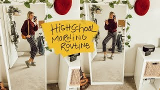 School Morning Routine For High School!