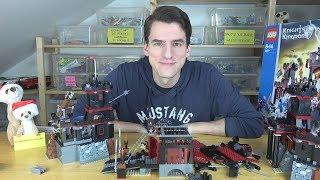 Bauabschluss - LEGO® Knights Kingdom II 8877 - Vladeks schwarze Burg