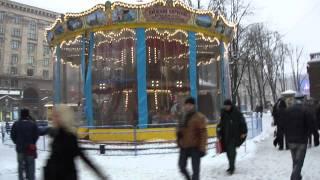 Киев, Крещатик. 4 февраля 2012