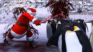 SANTA VS. 1,000 PENGUINS | Ultimate Epic Battle Simulator #4