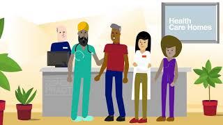 Health Care Homes Animation