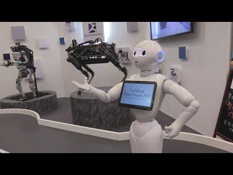 Robôs que substituem humanos dominam a Robot World