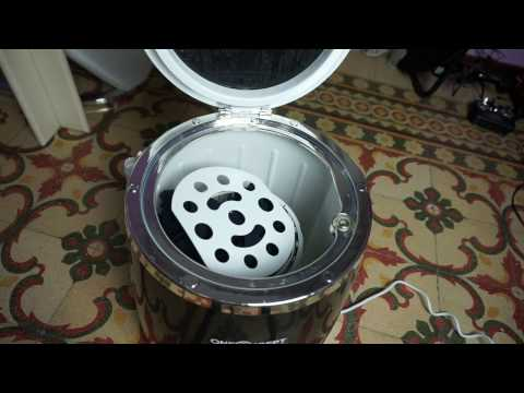 Minilavatrice centrifuga Ecowash Pico oneConcept distribuita da Electronic Star