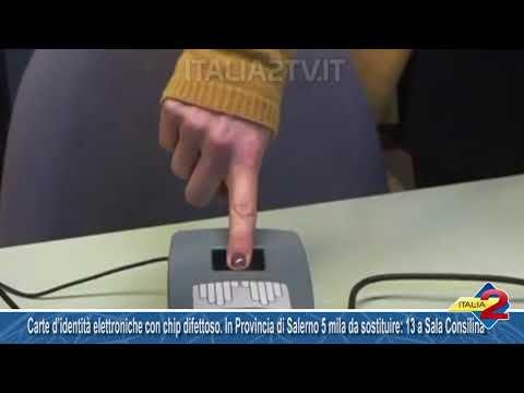 Carte d'identità elettroniche con chip difettoso. In Provincia di Salerno 5 mila da sostituire