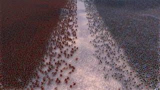 20.000 SPARTANS vs 20.000 FOOTMEN - Ultimate Epic Battle Simulator