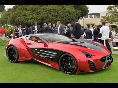 Super car video From Aston Martin One 77 to Ferrari P45 by..