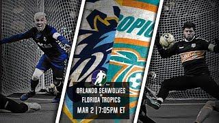 Orlando SeaWolves vs Florida Tropics