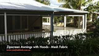 Zipscreen Fabric Awnings