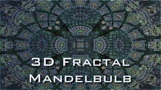 Mandala Matrix Fractal - Mandelbulb 3D HD 720p