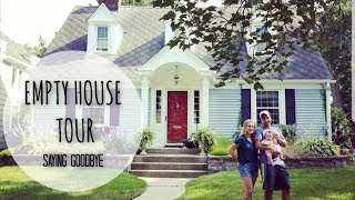EMPTY HOUSE TOUR | 1920s CAPE COD | SAYING GOODBYE