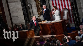 Trump's State Of The Union Speech, In Three Minutes