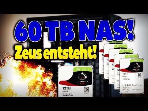 Mein neuer 60 TB NAS Server