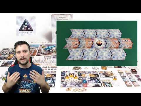 [Húzópakli] #10. Anachrony - Heavy euro királyi köntösben? - Game-Obscura