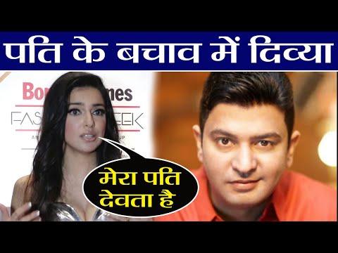 Divya Khosla Kumar defends her husband Bhushan Kumar on MeToo; Check Out | FilmiBeat