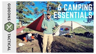 6 Camping Essentials: Camp Like A Boss