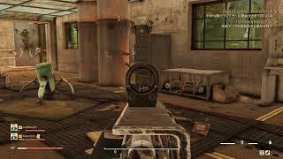 Fallout 76 マクリントックで訓練してこいガッツィー新兵