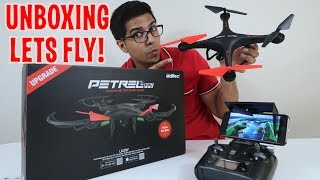 Unboxing & Let's Play - U42W UPGRADE DRONE! - Quadcopter FPV RC W/ Real Time Camera - FULL REVIEW!