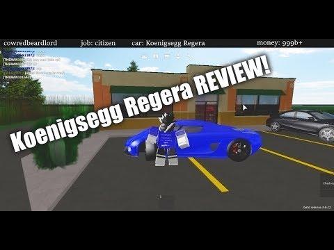 Roblox Greenville Beta!   Buying The Regera!   Spending