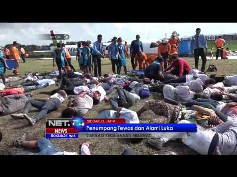 Pesawat Airbus Mendarat Darurat dan Terbakar di Bandara Juanda - NET24
