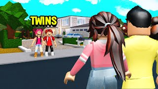 Evil TWINS Had No Parents.. But We FOUND Them TRAPPED In The Basement.. (Roblox Bloxburg)