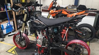 Putting The Suzuki DRZ400 Back Together - DRZ BUILD EPISODE 5