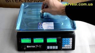 Весы торговые ACS BITEK (40 кг) - Ukrvesi.com.ua