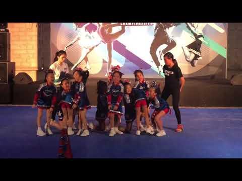 Elite Cheerleading Competition Rockstar Gym