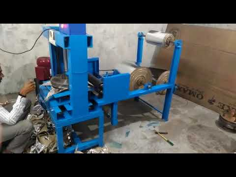 Fully Automatic Single  Paper Thali Machine