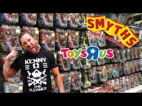 EPIC TOY HUNT!!! (WWE Mattel Figures - Smyths, Toys R Us, Home Bargains & Asda)