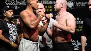 UFC 208: Encarada entre Ronaldo Jacaré e Tim Boetsch