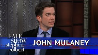 John Mulaney Has A Picture Of A Ghost, Maybe - Video Youtube