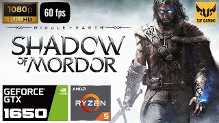 Middle-Earth Shadow of Mordor Gameplay, GTX 1650, Ryzen 5 3550H, Ultra Settings, 60 FPS, Full HD