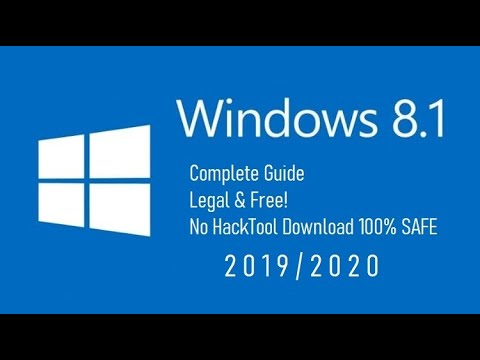 GET WINDOWS 8.1 FREE 2019/2020