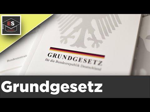 Grundgesetz Bundesrepublik Deutschland - Einfach erklärt !  Unsere Verfassung Menschenrechte
