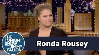 Ronda Rousey Sees Holly Holm as a Big Threat