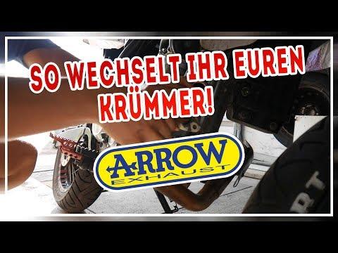 SO WECHSELT IHR EUREN KRÜMMER!  | ARROW | Tutorial | WR125X | MOTOP