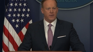 Sean Spicer Holds First Formal Press Breifing