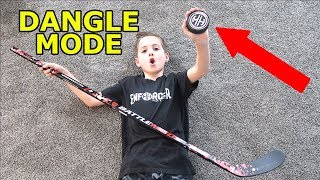 Kids Hockey Mode Hockey Dangle Mode Puck Review and New Stick