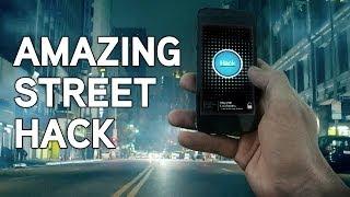 Смотреть онлайн Очень крутой розыгрыш людей на улице