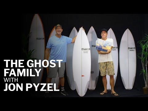 Pyzel Ghost Family Review with Jon Pyzel