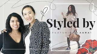 Petite & Curvy Girls Spring Outfits ft. Laura | Styled by Chriselle