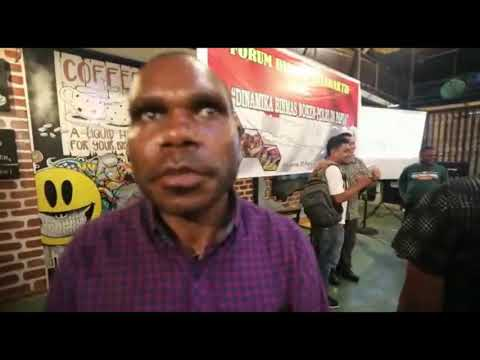 Diskusi Interaktif Binmas Noken Bersama Mahasiswa Uncen di Papua