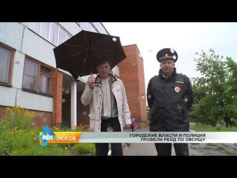 Новости Псков 11.08.2016 # Рейд с участковыми в Овсище