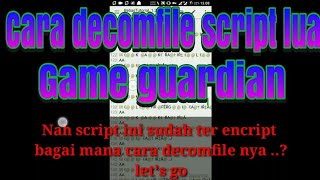 Script Lua Game Guardian Free Video Search Site Findclip