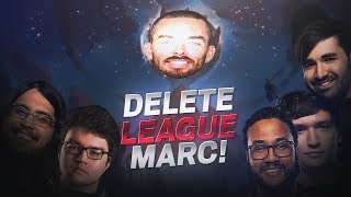 DYRUS | GANGING UP ON MARC MERILL w/ THE BOYS UNTIL HE DELETES LEAGUE