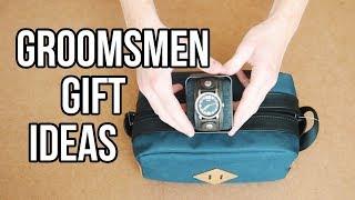 GROOMSMEN GIFT IDEAS!