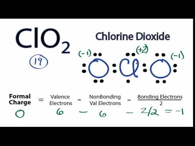 Clo2 Lewis Structure How Lewis Dot Structure Of Clo2 Chlorite Ion